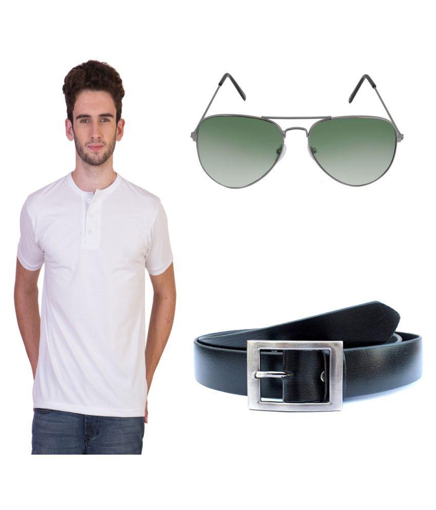 Keepsake White Henley T-Shirt Pack of 3