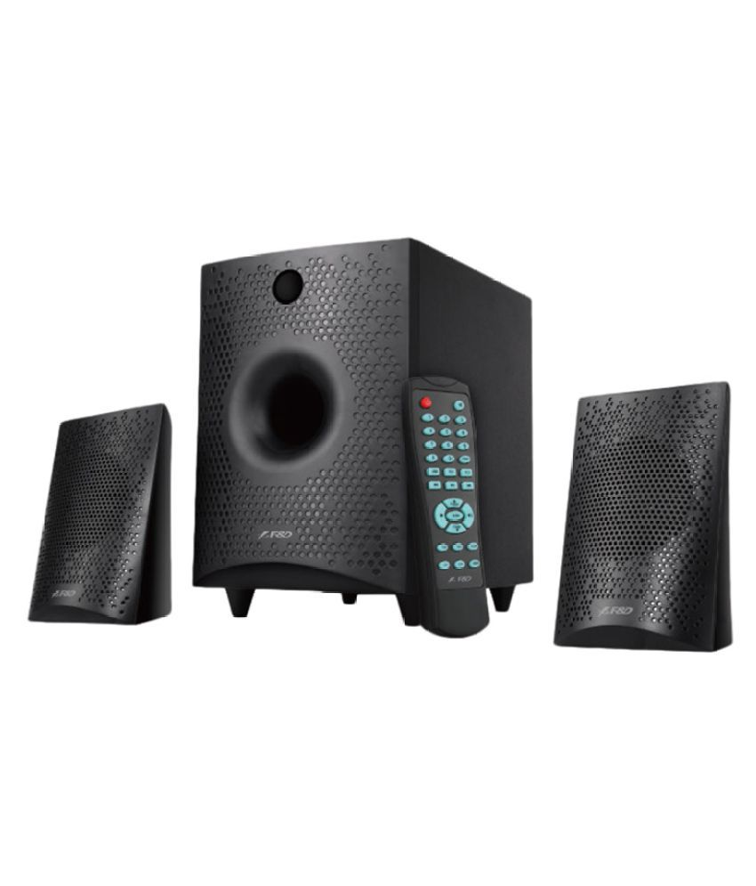 F&D F210X 2.1 Bluetooth Speakers - Black-19% OFF