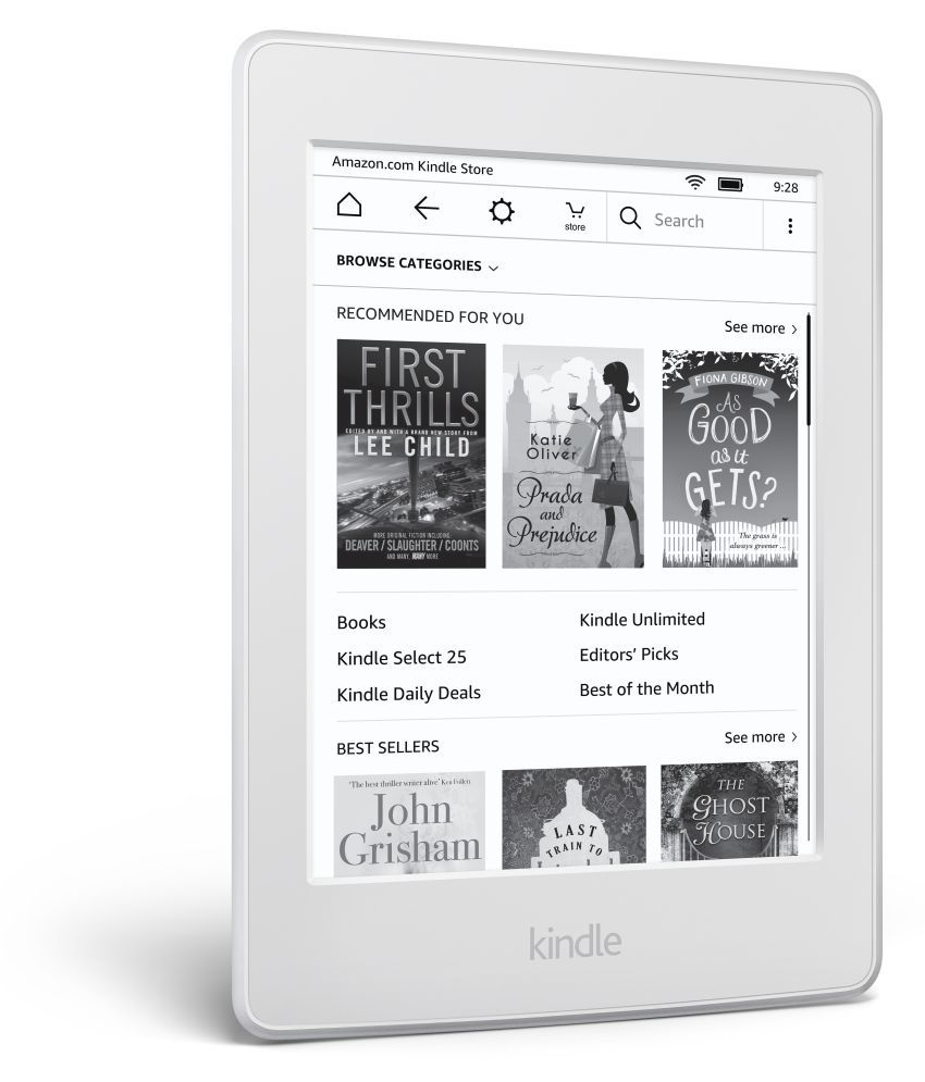 Kindle All New PaperWhite Built-In Light White ( Wifi Only , No Voice Calling )