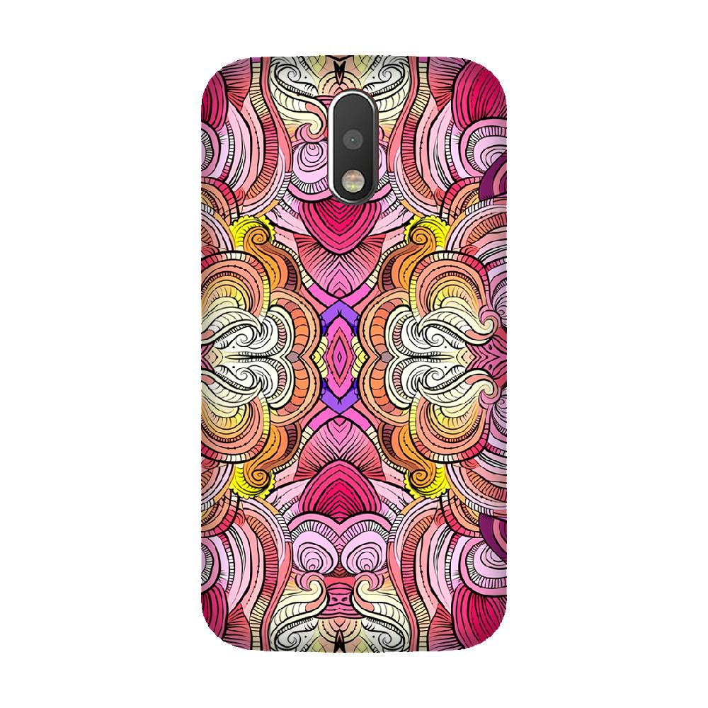Moto G4 Printed Cover By Armourshield
