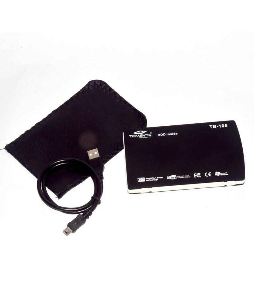 Terabyte Portable External 2.5 Inch Usb To Sata Hdd Hard Disk Drive Case Casing (For Laptop)