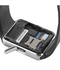 Life Like GT08 Bluetooth Smart Watch With Sim & TF Card Slot - Silver