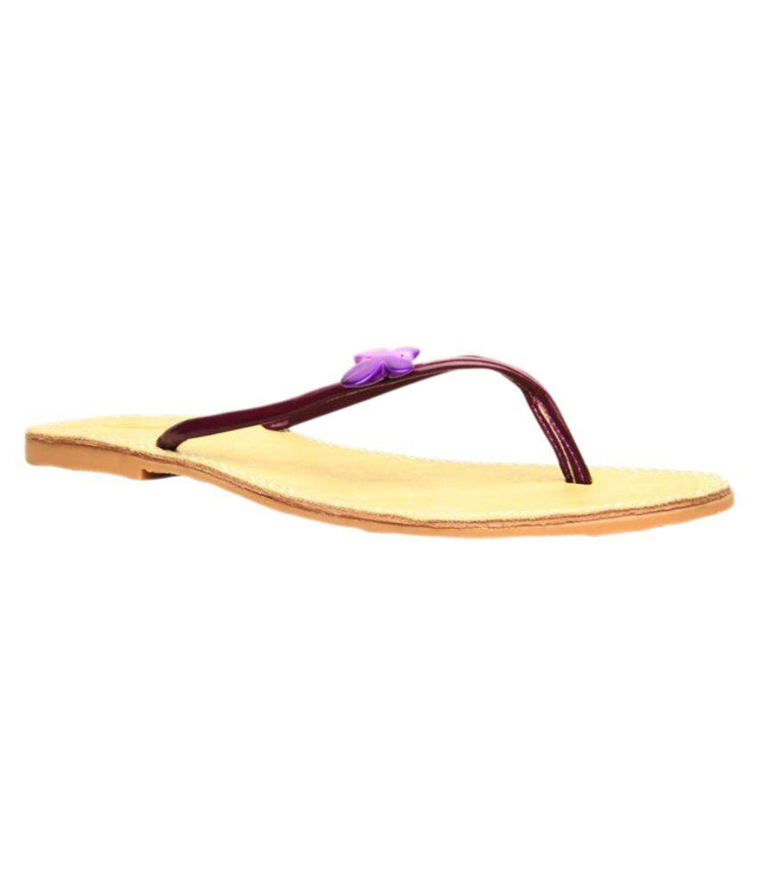 Footin Purple Slippers Art F5719283BLUE