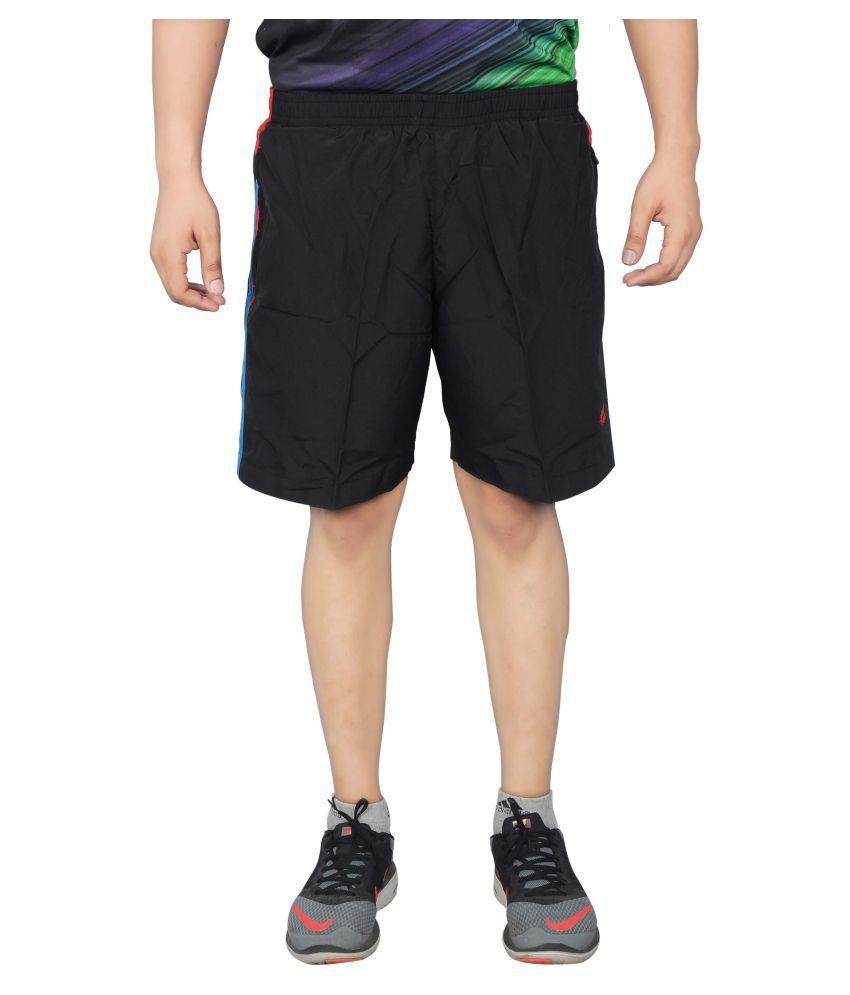 NNN Black Shorts for Men