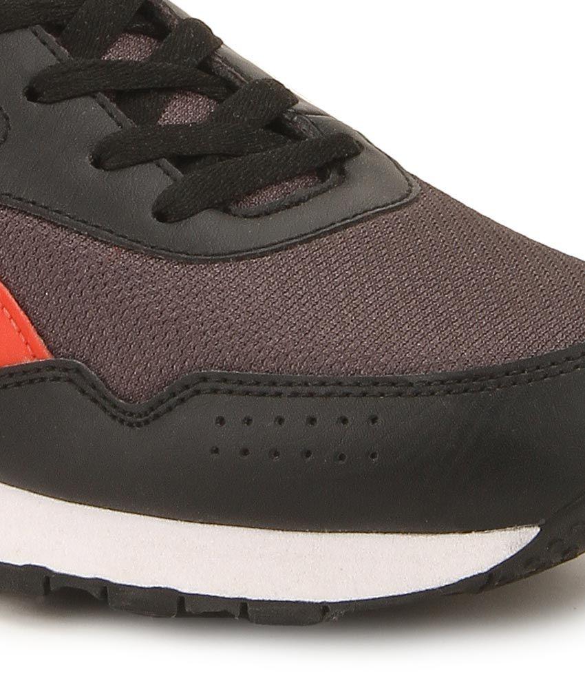 895ffcd7813a Reebok Classic Protonium Black   Gray Running Sports Shoes - Buy ...