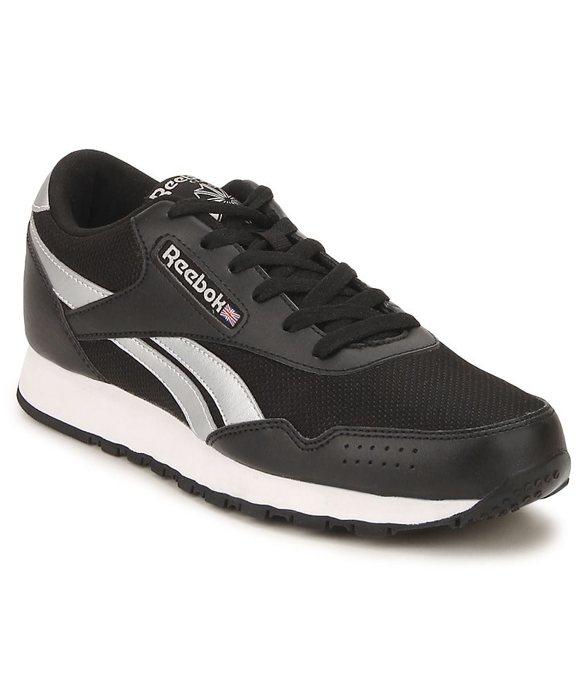 8d43d5380181f1 Reebok Classic Protonium Black   Silver Running Sports Shoes - Buy ...