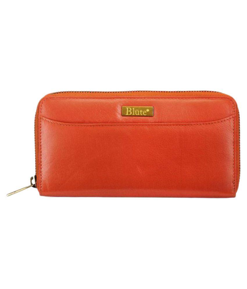 Blute Orange Wallet