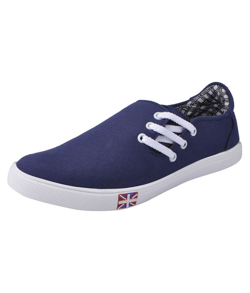 Fausto Lifestyle Navy Casual Shoes