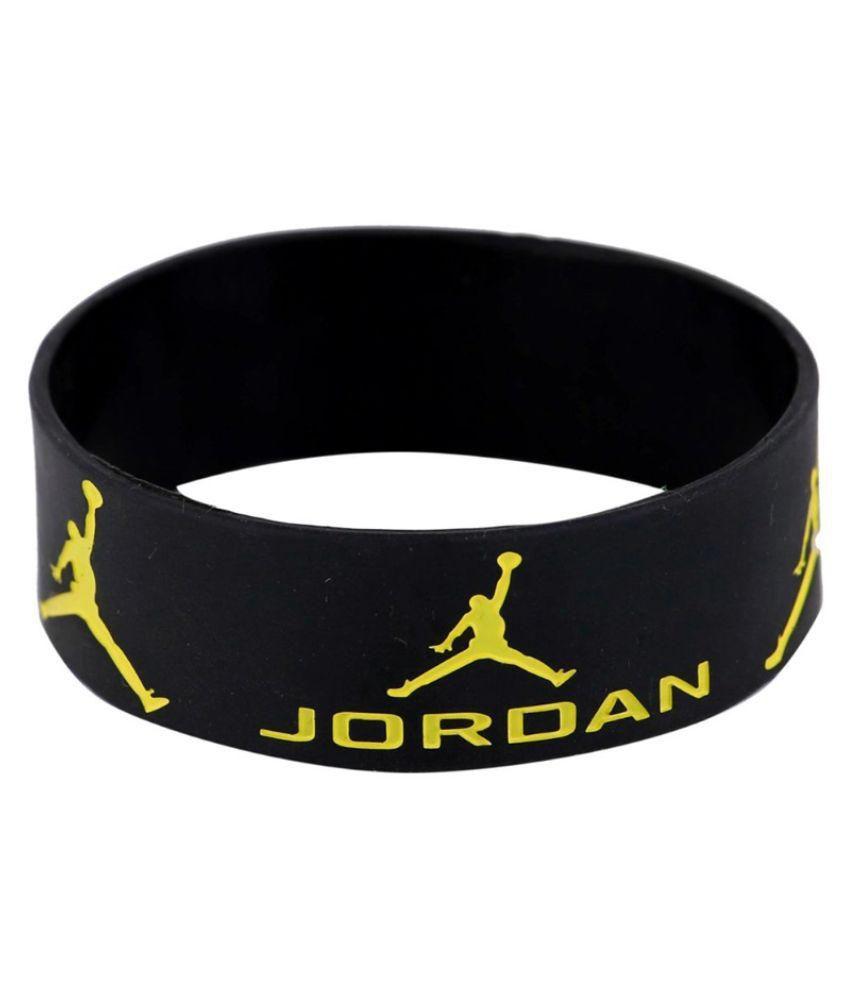 Haflingerr jordan Black silicone wristband.