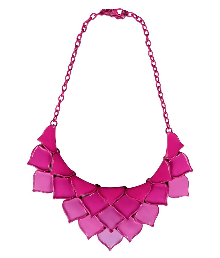 Outdazzle Pink Necklace