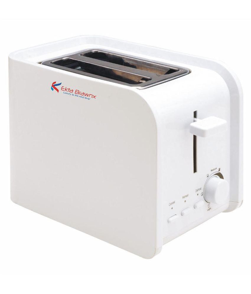 Ekta Brawnx X2-5602 750W Pop Up Toaster