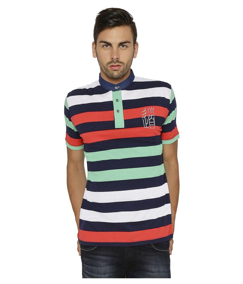 Paani Puri Clothing Multi Henley T-Shirt