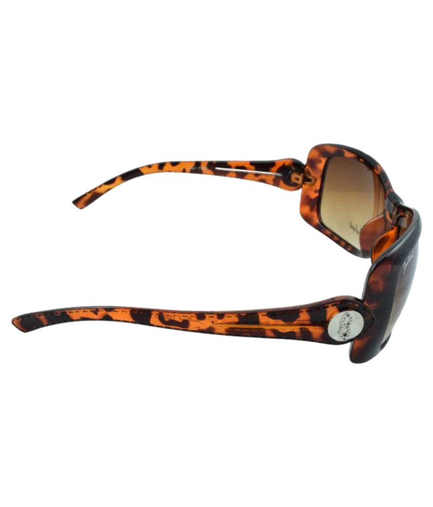 19a9c6fa59 Polo House USA Brown Oval Sunglasses ( JulientW1103tigerbr ) - Buy ...