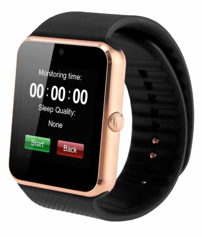 Wearable Smartwatches Online At: Zakk Gt-08 Smart Watches Black