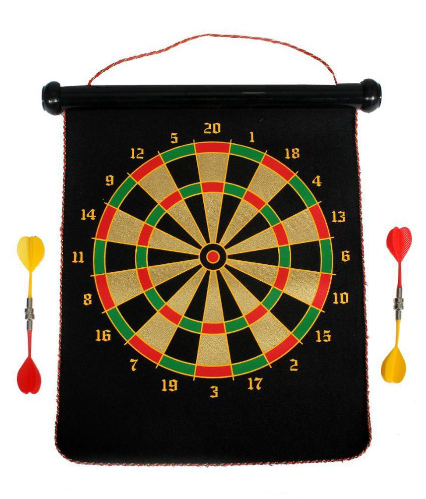 Shape n Style Multicolor Magnetic Dart Game