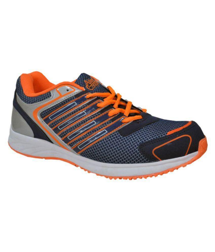 Allen Cooper AC-1052LGryBlu Navy Running Shoes
