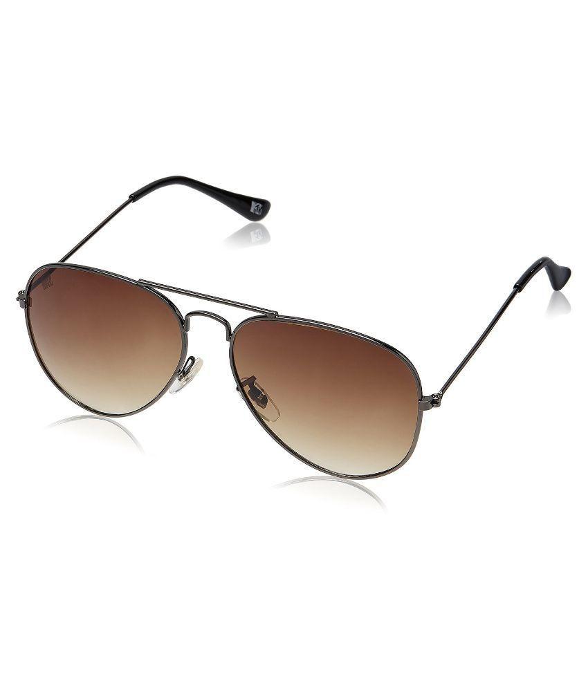 MTV - Brown Pilot Sunglasses ( mtv-123-c13 )