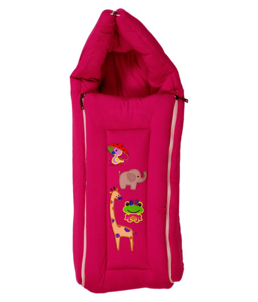 Baby Pink Sleeping Bag Bag Baby Blanket/Baby Swaddle/Baby Wrap