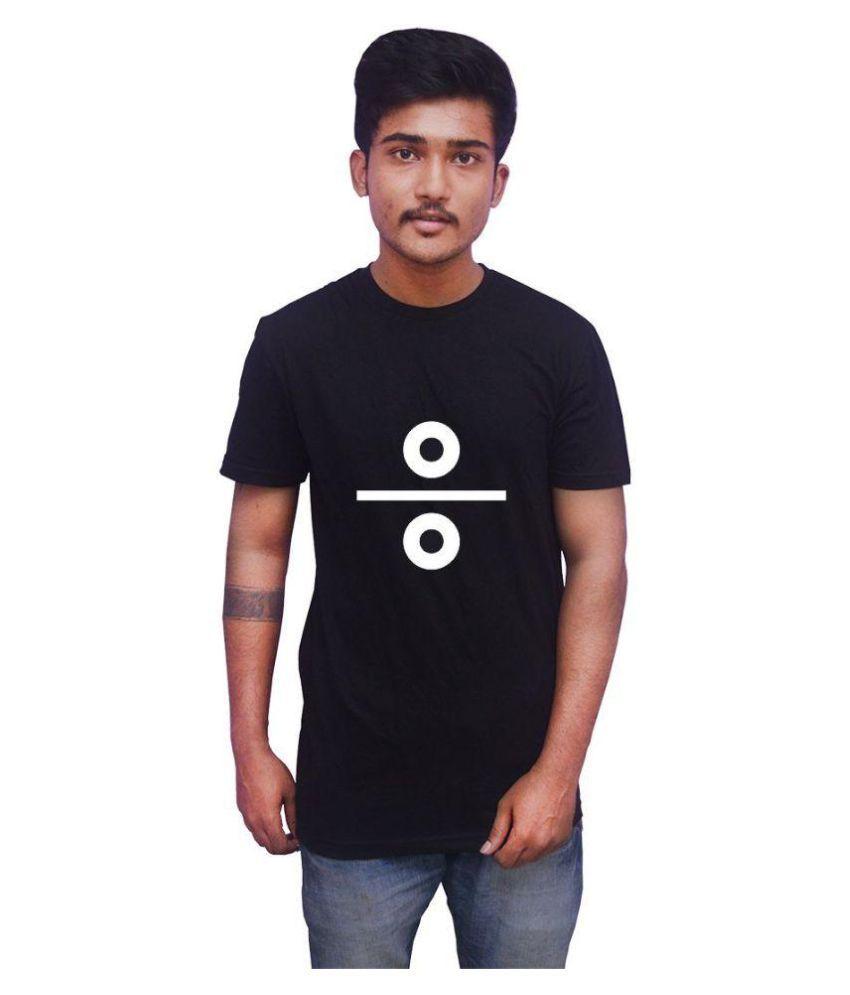 Uniplanet Black Round T-Shirt