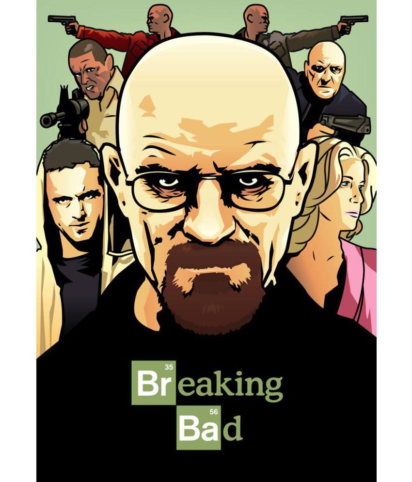ULTA ANDA Breaking Bad - Heisenberg A4 Cotton Canvas Art Prints ...