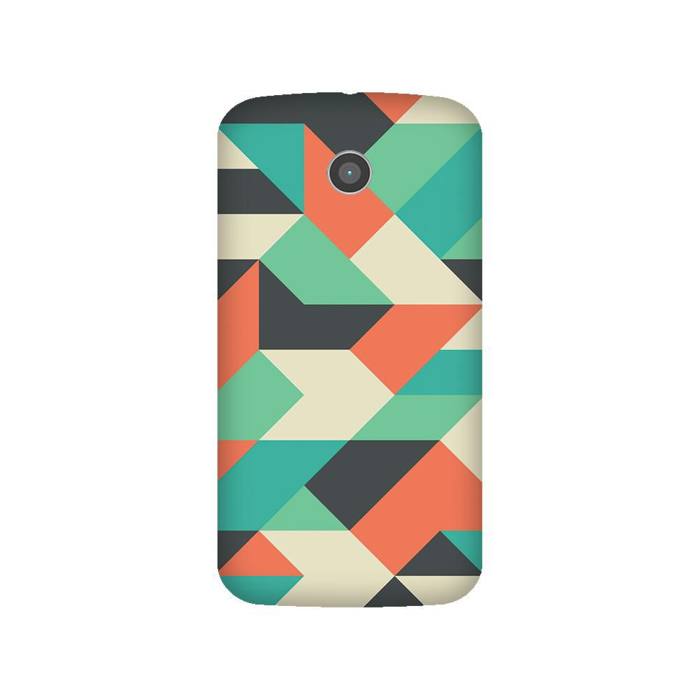 Moto E Printed Cover By Armourshield