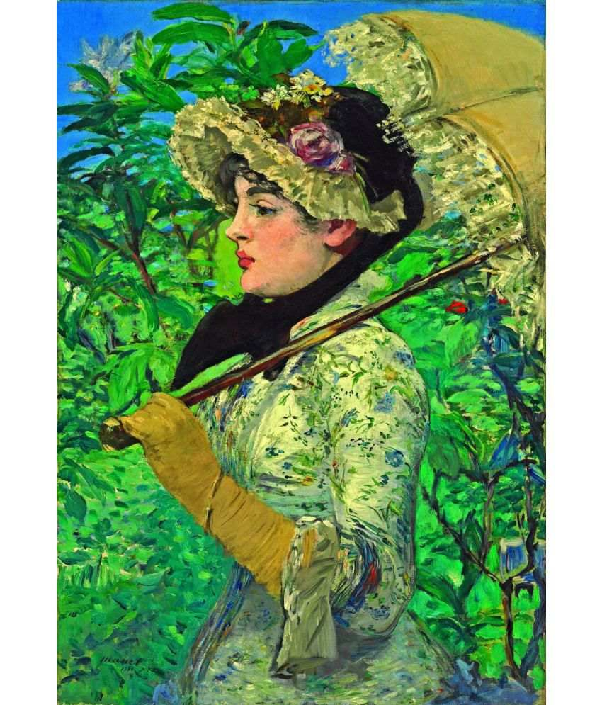 Tallenge Edouard Manet Canvas Art Prints Without Frame Single Piece