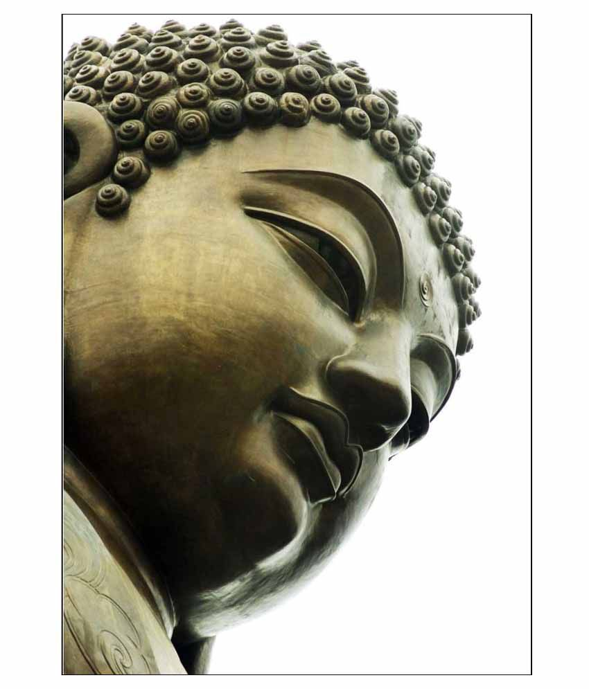 Tallenge Buddha Bless You Canvas Art Prints Without Frame Single Piece