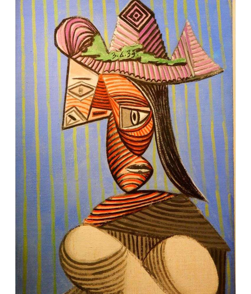 Tallenge Picasso - Love And War Canvas Art Prints Without Frame Single Piece