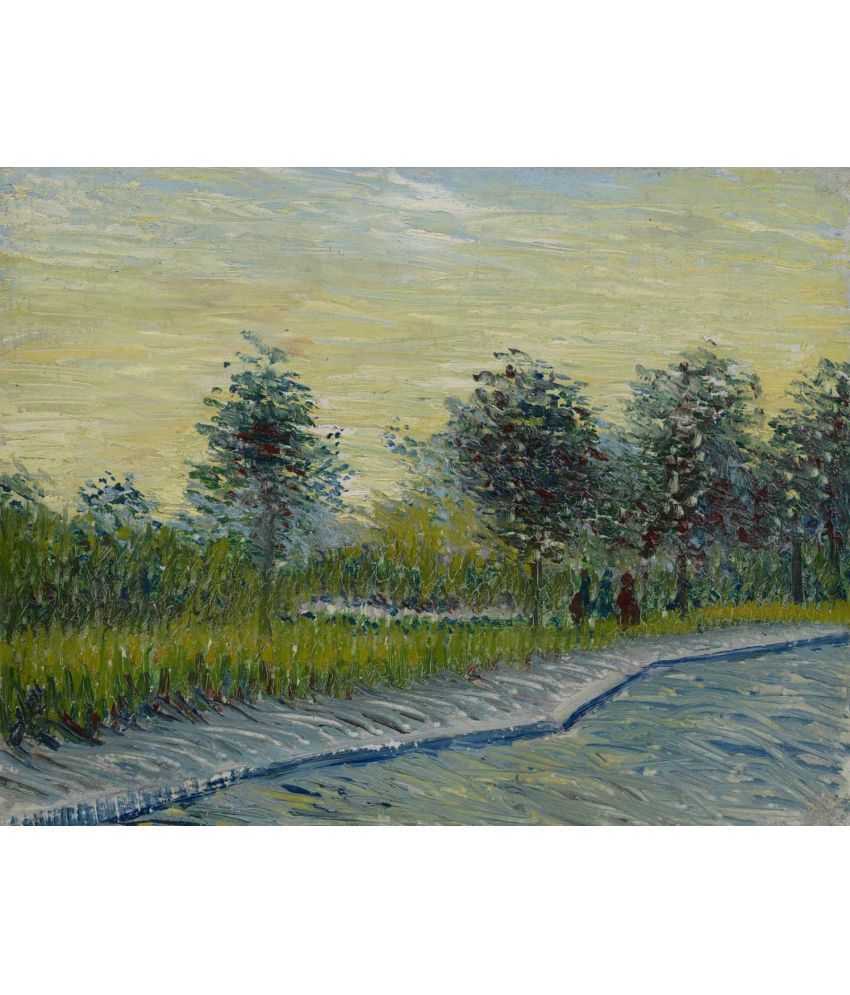 Tallenge Van Gogh - Square Saint-Pierre at Sunset Canvas Art Prints Without Frame Single Piece
