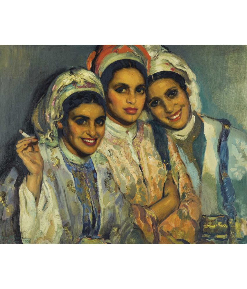Tallenge Jose Cruz Herrera - Moroccan Beauties  Canvas Art Prints Without Frame Single Piece