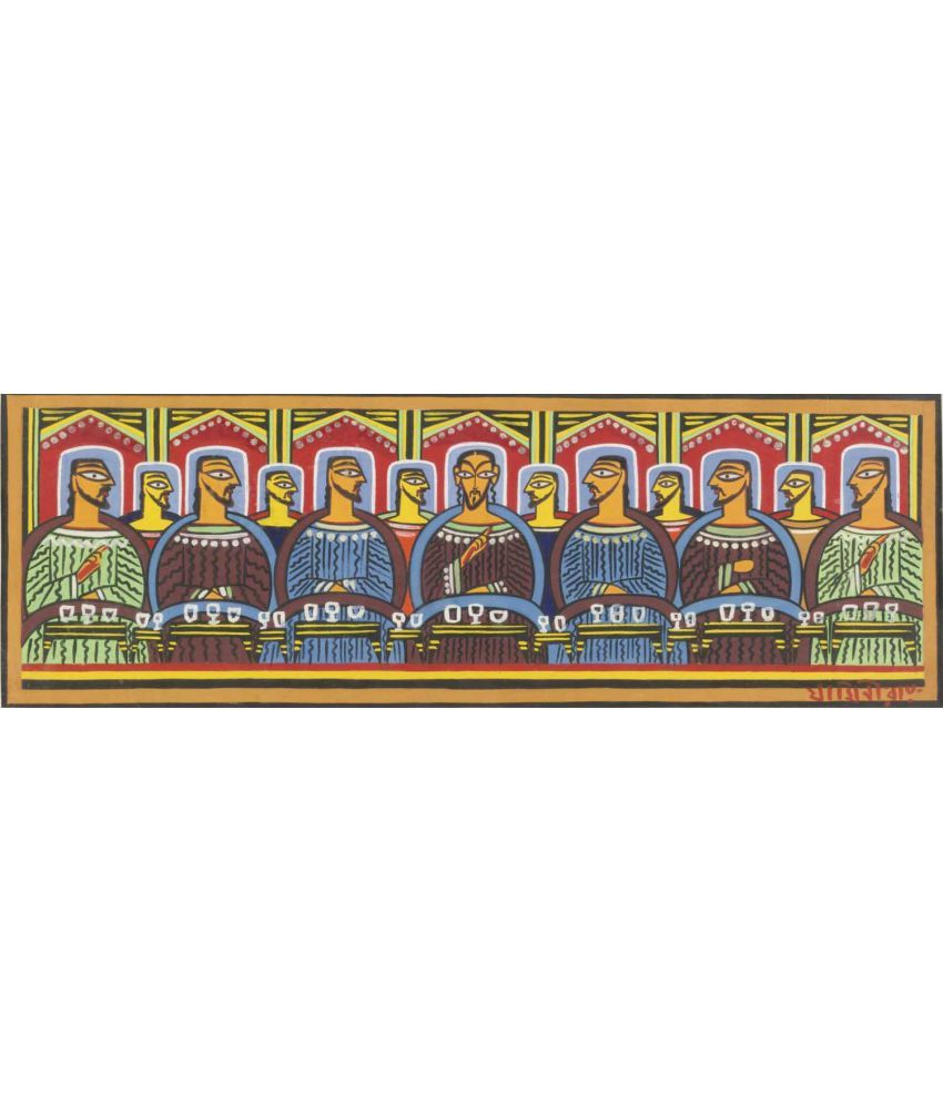 Tallenge Last Supper Canvas Art Prints Without Frame Single Piece