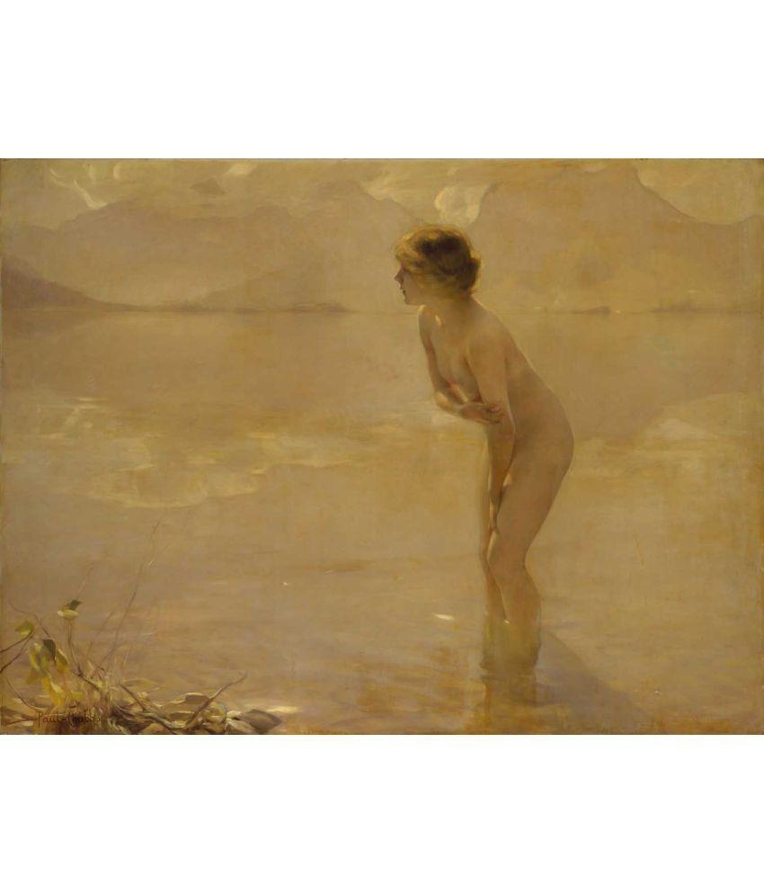 Tallenge Paul Émile Chabas - September Morn Canvas Art Prints Without Frame Single Piece