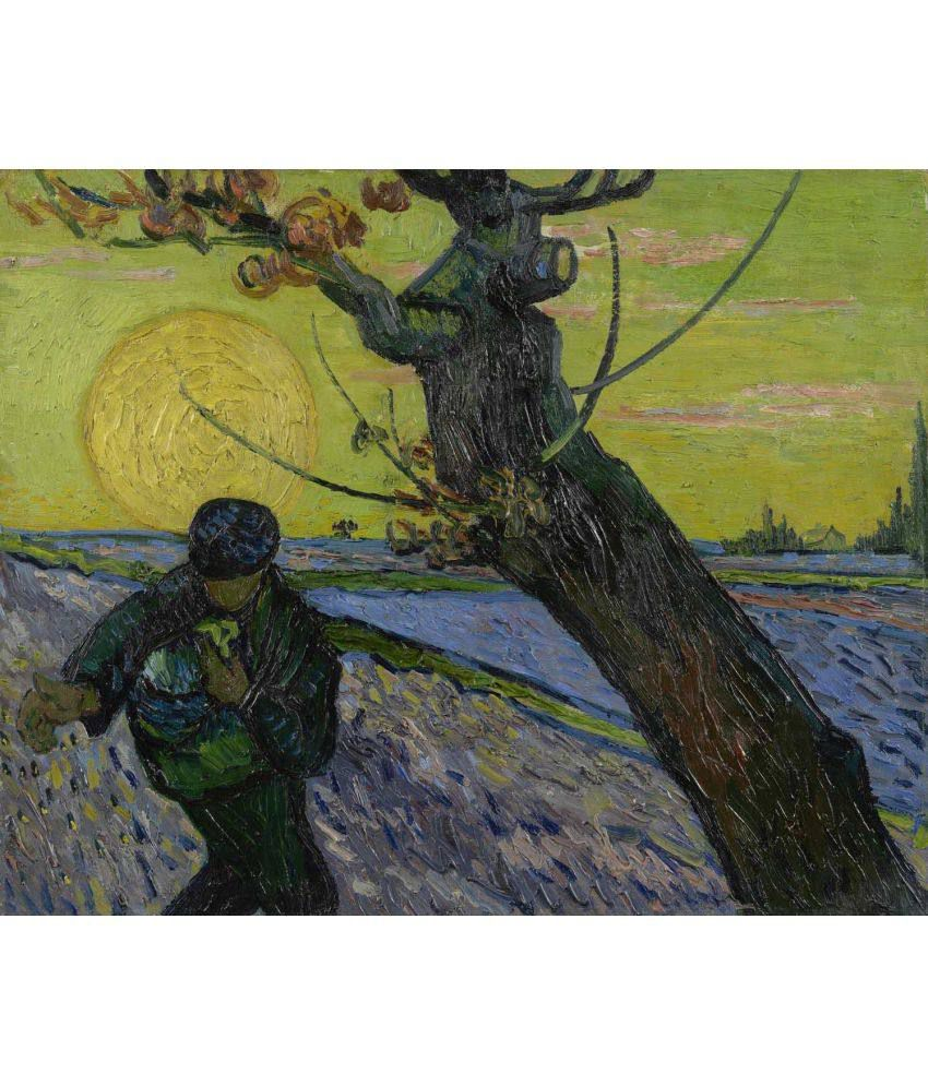 Tallenge Van Gogh - The Sower  Canvas Art Prints Without Frame Single Piece