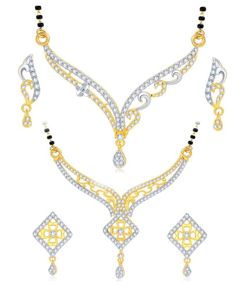 Sukkhi Gold Plated Designer Mangalsutra Set - Set of 2