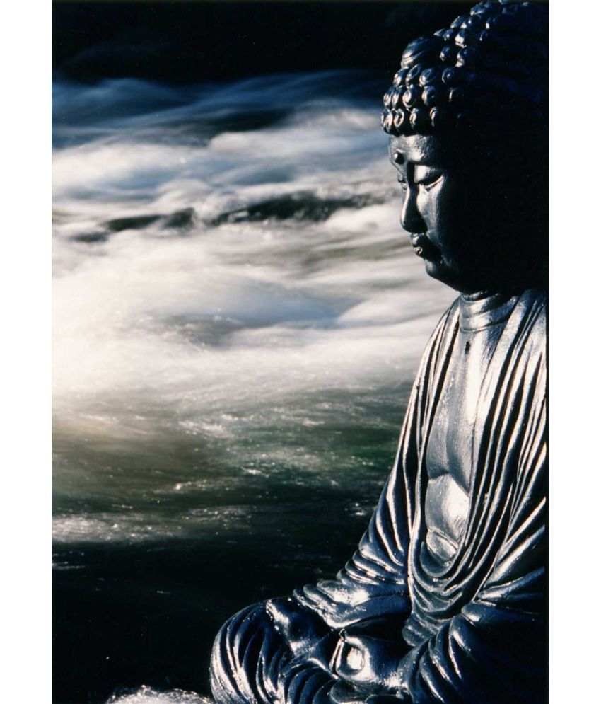 Tallenge  Japanese Art - River Buddha  Canvas Art Prints Without Frame Single Piece