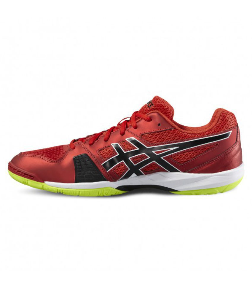 57c24e759df Asics Red Men s Badminton Shoes Gel-Blade 5 - Buy Asics Red Men s ...