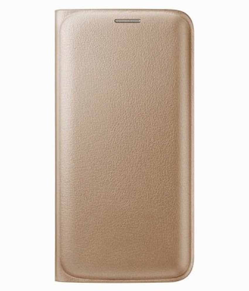 Oppo F1 Flip Cover by Sedoka - Golden