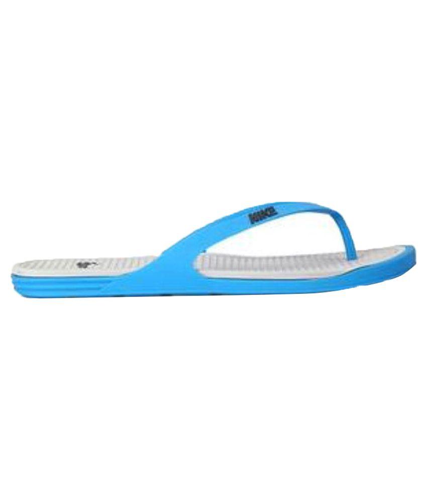 9c04843417b9 Nike Blue Thong Flip Flop Art N603731410 Price in India- Buy Nike ...