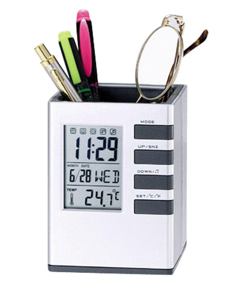 Tuelip Digital Clock Office Corporate Pen