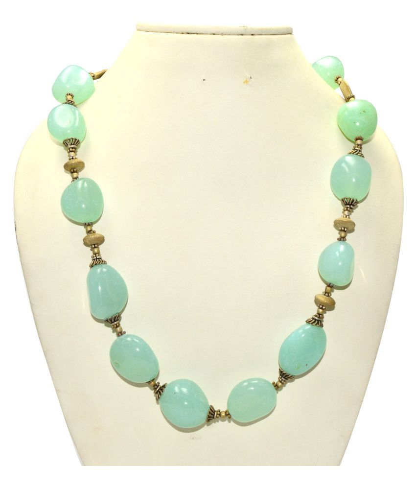 Manirathnum Green Necklace