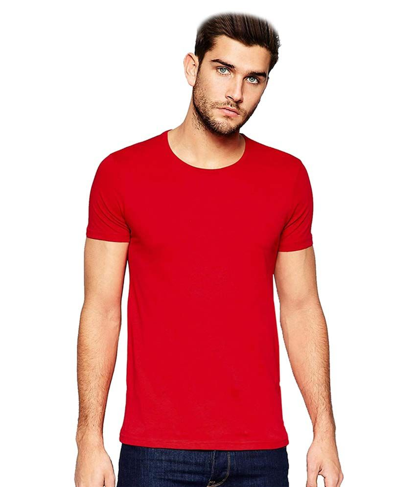 Indian Engineer Red Round T-Shirt