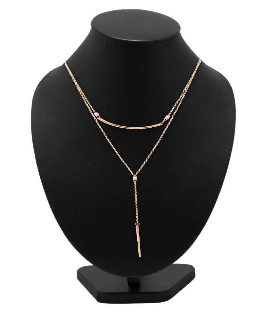 Voylla Golden Necklace