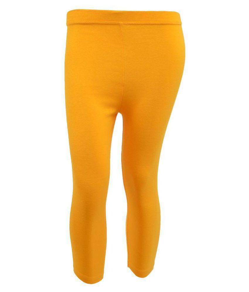 Tanus Yellow Capris