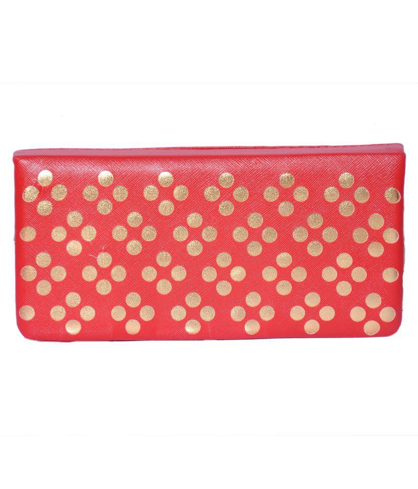 Lee Maridian Red Wallet