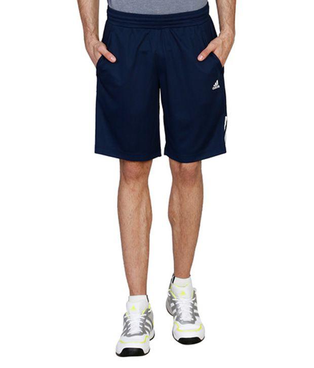 Adidas Blue Polyamide Shorts