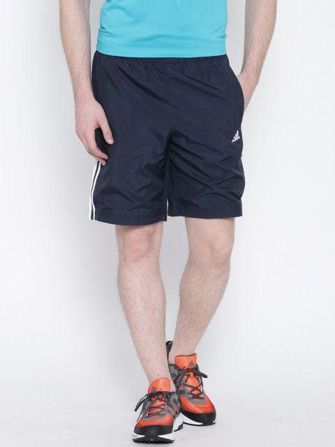 Adidas Navy Polyamide Shorts