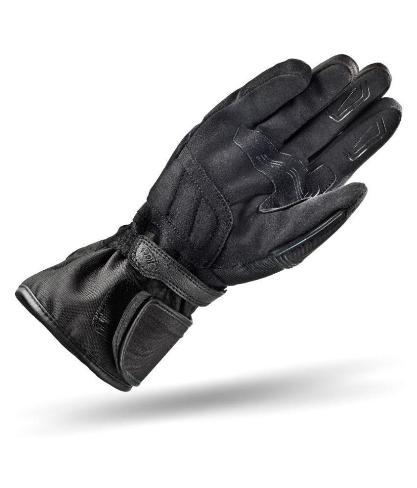Buy leather hand gloves online india -  Shima Black Leather Gloves
