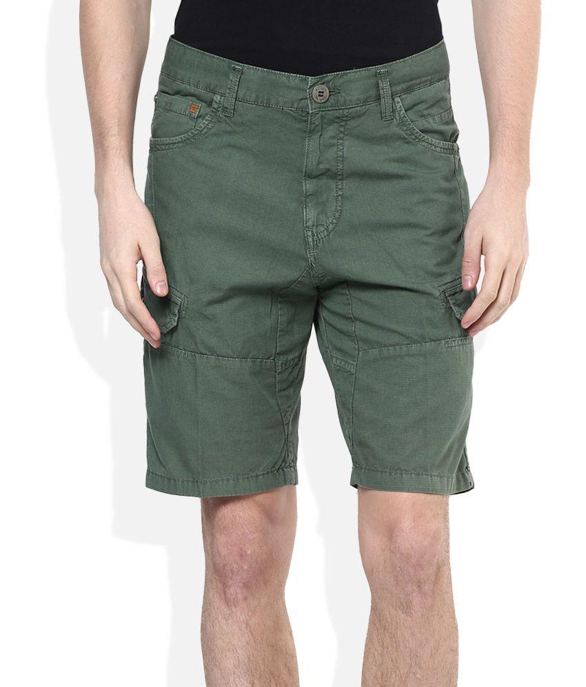 Killer Green Printed Shorts