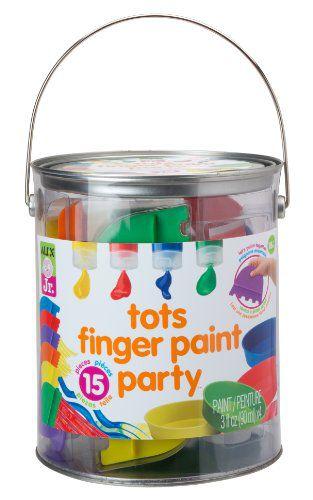 Toys For Tots Letter Head : Alex toys jr tots finger paint party buy online at