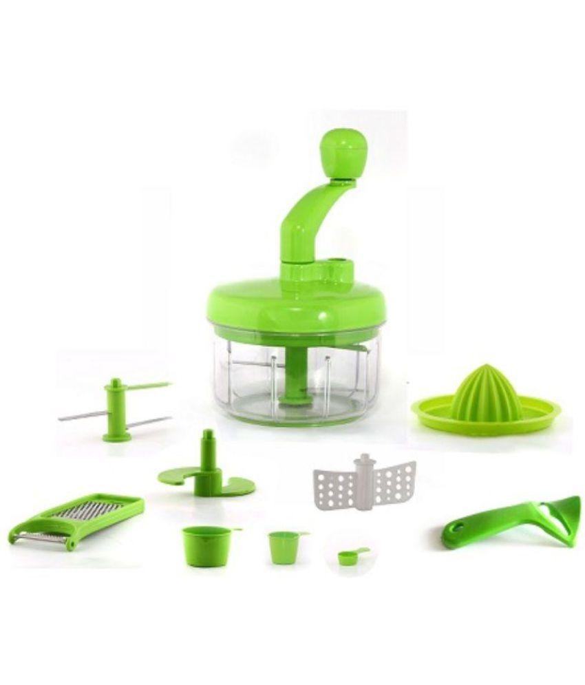 Crystal Green Plastic Vegetable Chopper Set 10 Pcs  : Crystal Green Plastic Vegetable Chopper SDL548750045 1 a2408 from compare.buyhatke.com size 850 x 995 jpeg 38kB